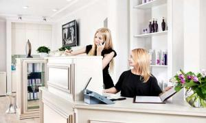 "Beauty salon ""FIAMMA"" are PR-Manager and administrator"