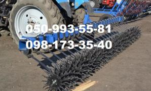 BMR-4.2, BR-6, BR-8 harrow rotary hoe transport of the mouth