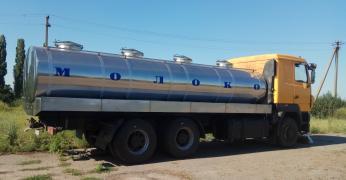 Изготовление автоцистерн, водовозов, молоковозов, рыбовозов