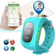 Kids smart watch with GPS+wire