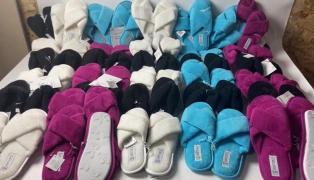 Lot 03-0317, ESMARA Slippers, weight 8.5 kg (39 pairs) price 2890 UAH (0933642482)
