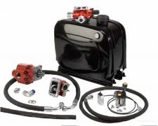 The hydraulics kit for the tractor
