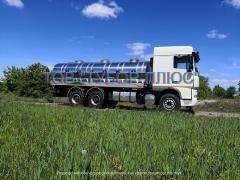 Виготовлення рыбовозов, молоковозів, водовозов та інших автоцист